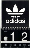 ADIDAS STICKER Adidas Skate Snow Sports Black/White 2.5 in. Square Decal