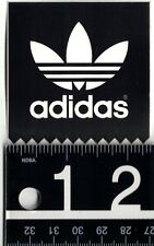 ADIDAS STICKER Adidas Skate Snow Sports Black/White 2.5 in. Square Decal