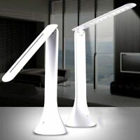 LED Touch Lampada da Scrivania  Pieghevole USB Ricaricabile Luce Lettura tavolo
