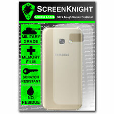 ScreenKnight Samsung Galaxy A3 (2017) BACK SCREEN PROTECTOR - Military Shield
