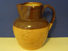 Doulton Lambeth Antique Old Pottery Jug