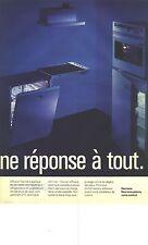 PUBLICITE ADVERTISING  1993  SIEMENS lave vaisselle frigidaire four gazinière