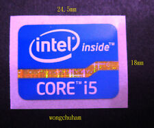 Intel Core i5 sticker 18mm x 24.5mm 2011 Version