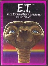 E.T. THE EXTRA TERRESTRIAL CARD GAME MINT SEALED NIB 1982 FREE SHIPPING!!