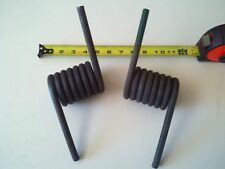 PAIR of Trailer Heavy Duty RAMP Springs 2,000 lb - Left & Right Spring Coil