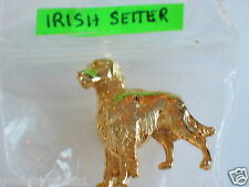 Irish Setter Dog Pin , *Very Nice!* & Looks Qualty (Much nicer than Picture)