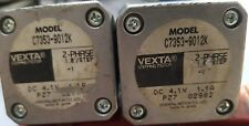 2 PCS OF ORIENTAL MOTOR Vexta Step Motors C7353-9012K 2-Phase (R1S10.3B1)