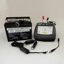 BATTERY POWER for Sleep Apnea Machines, Cpap, Bipap. Power for 5 - 8 NIGHTS!