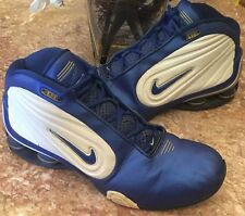 Nike Limitless TB Shox (2002) Men's Blue/White Athletic Shoes Sz 13 -304788-741