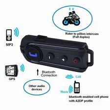 1000m bt-s1 Bluetooth FM Radio Moto Interphone A2DP GPS Intercomunicador Casco