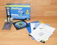 Linksys (WPC54GS) Wireless - G Notebook Adapter With Speed Booster **READ**