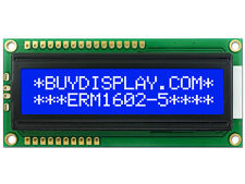 5V Blue Serial SPI 16x2 Character LCD Display Module w/Tutorial,Bezel,Backlight