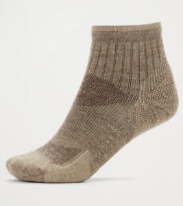 ExOfficio womens Bugsaway Solstice Canyon Quarter Sock, S/M, US 4 to 7.5