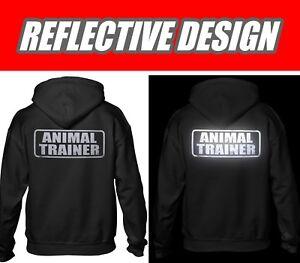 Animal Trainer hoodie, REFLECTIVE LOGO,