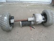 Mobility Scooter motor and wheels working used condition