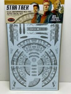 Polar Lights Star Trek U.S.S Enterprise NCC-1701 Aztec Decal Set 1:1000 MKA042