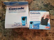Penn Plax Cascade 610 Bio-sponge Corner Internal Filter + Carbon Bags
