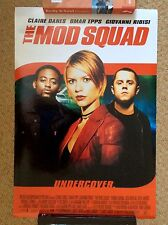 THE MOD SQUAD Original Movie Poster CLAIRE DANES GIOVANNI RIBISI OMAR EPPS