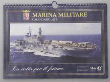 PRL)  CALENDARIO 2012 MARINA MILITARE NAVI PORTAEREI NAVE VESPUCCI ELICOTTERO