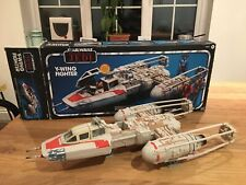 More details for vintage star wars y-wing fighter 1999 with box