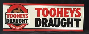 Tooheys Draught Point Of Sale Flat Bar Sign