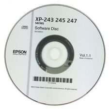 Expression Home XP-243 XP-245 XP-247 PRINTER SOFTWARE DRIVER DISC ON CD CLONE