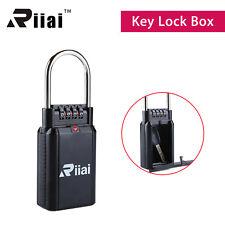 Black Riiai Padlock Key Safety Storage Security Combination Lock Car-door Handle