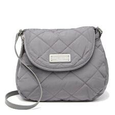 Marc Jacobs Crossbody Bag Natasha Quilted Nylon Shadey Grey Purse