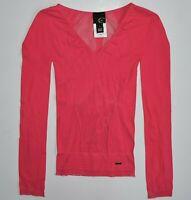 Just Cavalli Roberto Nylon Blouse Top Shirt T-shirt Jersey Long Sleeve Women's 2