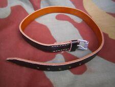 Cinghia pelle affardellamento, gavetta, German leather strap mess tin WW2