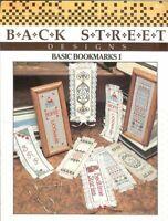 BACK STREET DESIGNS BASIC BOOKMARKS l   - CROSS STITCH BOOKMARK LEAFLET