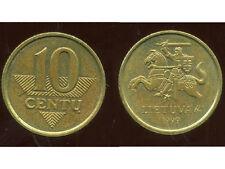 LITUANIE 10 centu 1999   anm ( bis )
