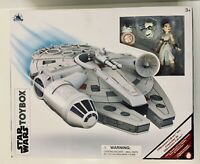 Disney Star Wars Toybox Millennium Falcon Playset Rey, BB-8 & D-O New!