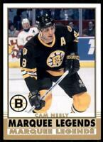 2020-21 UD O-Pee-Chee Retro Marquee Legends #538 Cam Neely - Boston Bruins