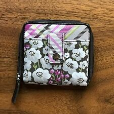 Thirty One Gifts Essential Zip Wallet Painted Floral