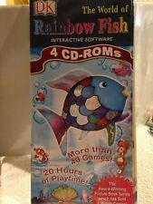 The World of Rainbow Fish DK Interactive Software 4 CD ROMs 40+ games Ages 3-7
