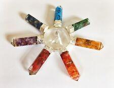 Orgonita Generador De Energía Orgón Chakra de cristal piedra preciosa de curación reiki New age