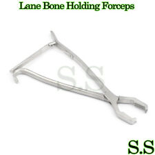 "LANE Bone Holding Forceps 13"" With Ratchet Orthopedic Surgical Instruments"