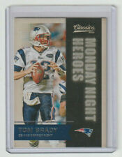 "TOM BRADY Patriots 2016 Classics ""Monday Night Heroes"" #9 Sweet Insert Card"