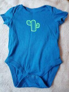 Baby Boys UK 9-12 Months Catus Short Sleeved Vest