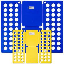 2er Set Hemdenfalter Wäschefalter Wäsche Faltbrett Falthilfe Wäschefaltbrett