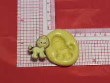 Baby Lion Silicone Push Mold A47 For Fondant Resin Clay Cake Pop Chocolate Soap