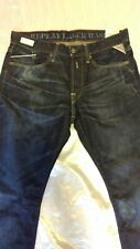 REPLAY ! W32-L32. 12.5 OZ Flat Finish Denim ! 118901007.