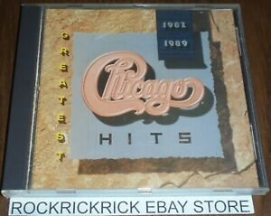 CHICAGO - GREATEST HITS 1982 - 1989 -12 TRACK CD- (REPRISE / 9 26080-2)