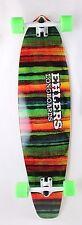 "Poncho Graphic Kicktail Longboard Skateboard 40"" x 9.75"" Complete"