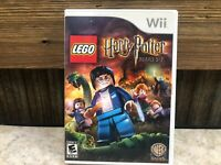 LEGO Harry Potter: Years 5-7 Nintendo Wi  COMPLETE TESTED FREE SHIPPING  - #3