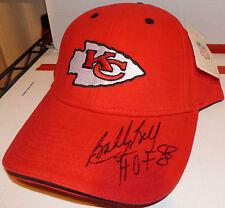 "Bobby Bell ""HOF 83"" Autograph Hat Signed Kansas Cith Chiefs Cap RARE AUTO NWT"