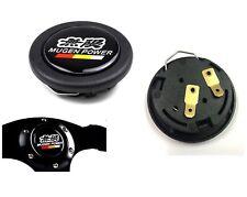 MUGEN CAR HORN BUTTON STEERING WHEEL CENTER CAP BLACK