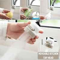 Moveable Kitchen Tap Head 360° Rotatable Faucet Water Saving Filter Sprayer