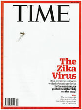 news magazine TIME may 16 2016 THE ZIKA VIRUS It's a mysterious illness